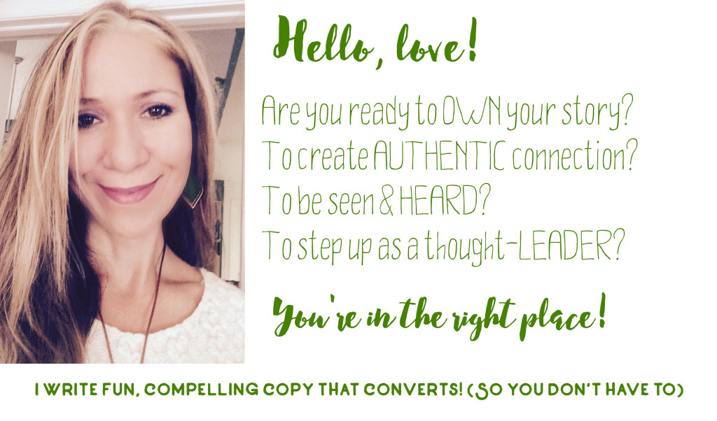 Copy that Converts for Soulful Entrerpreneurs